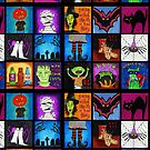Fun Halloween Squares by cehouston