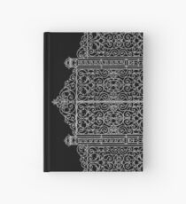 French Wrought Iron Gate | Louis XV Style | Black and Silvery Grey Hardcover Journal