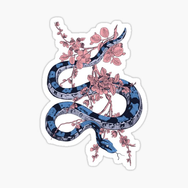 Jungle Snake Sticker