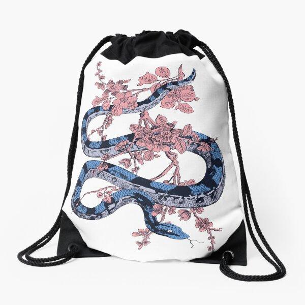 Jungle Snake Drawstring Bag
