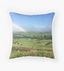 Rainbows End Throw Pillow