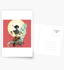 The Bone Ranger's Comin' Postcards
