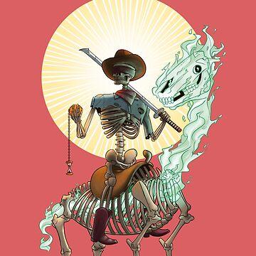 The Bone Ranger's Comin' by kyle-sans-kyle