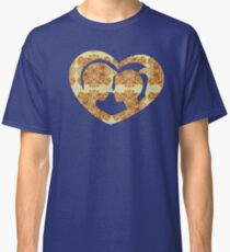 Hearts, Roses, and a Kiss Classic T-Shirt