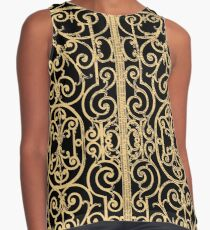 French Wrought Iron Gate | Louis XV Style | Black and Gold Contrast Tank