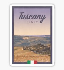 Tuscany, Italy Sticker