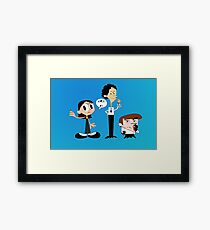 Dexter's Killing Lab Framed Print