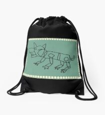 Keith's Red Lion Drawstring Bag