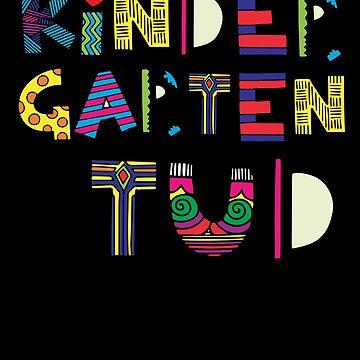 Kindergarten Shirt Boys Pre-K 2018 Stud Gift TShirt by thehadgaddad