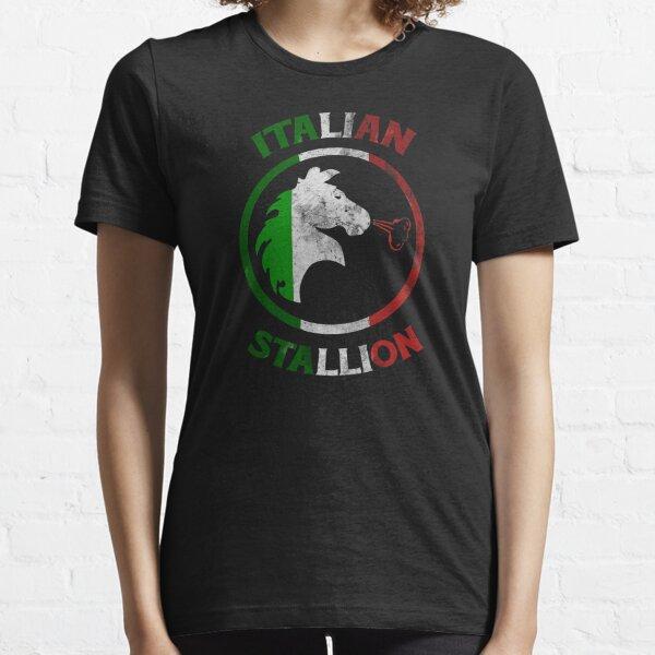 Italian Stallion shirt Italy horse funny gift Essential T-Shirt