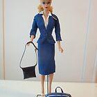 Airline Stewardess Barbie Doll  by clizzio