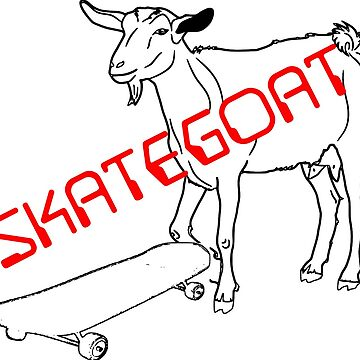 SKATEGOAT by EARNESTDESIGNS