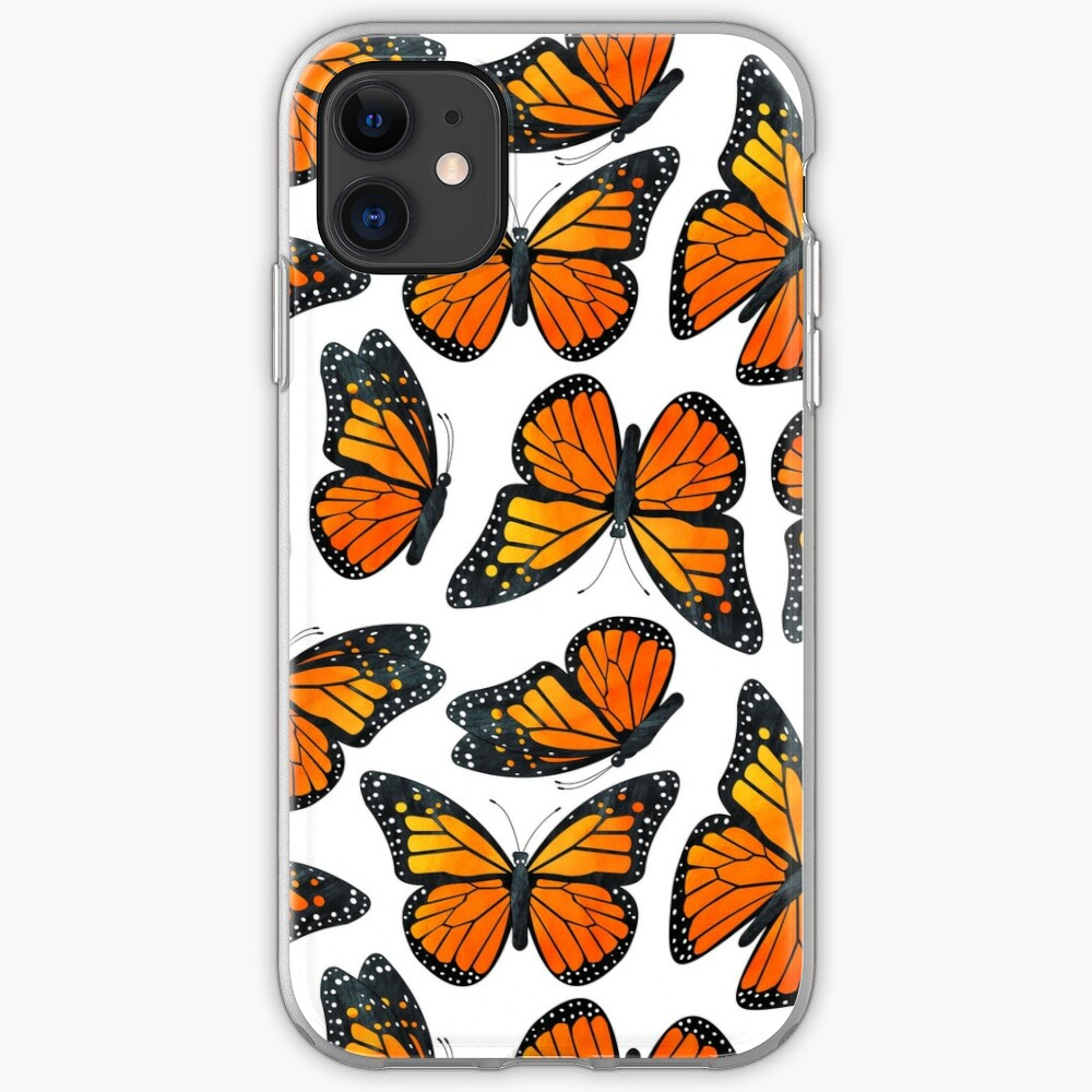 Monarch Butterfly Pattern iPhone Case & Cover