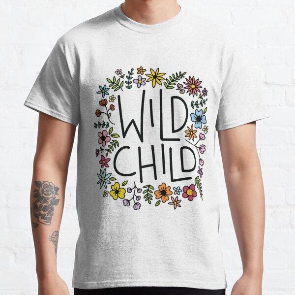 wild child flower design Classic T-Shirt