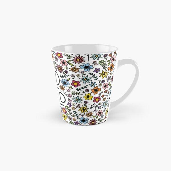 wild child flower design Tall Mug