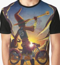 Wilco the Biker Wizard Graphic T-Shirt