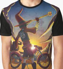 Wilco the Biker Wizard Graphic T-Shirt