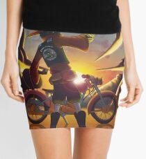 Wilco the Biker Wizard Mini Skirt