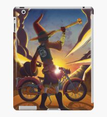 Wilco the Biker Wizard iPad Case/Skin