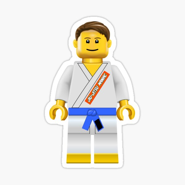 Jiu-jitsu Maniac Blue Belt Sticker