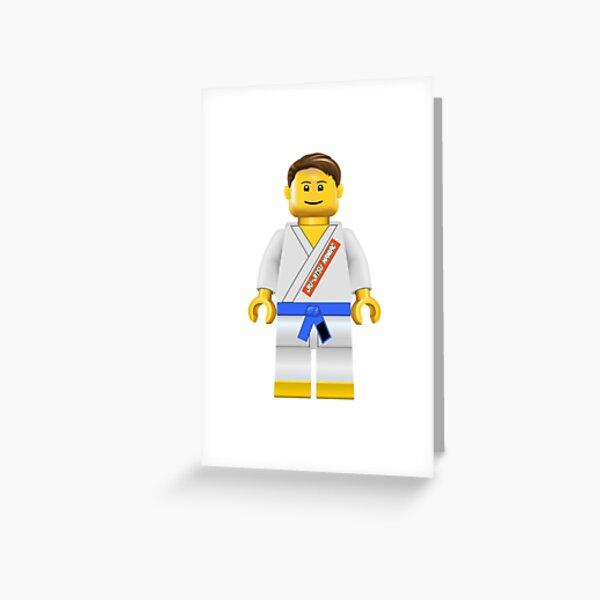 Jiu-jitsu Maniac Blue Belt Greeting Card