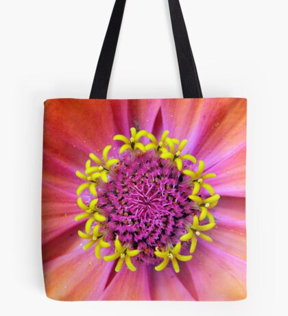 Zinnia Central Tote Bag