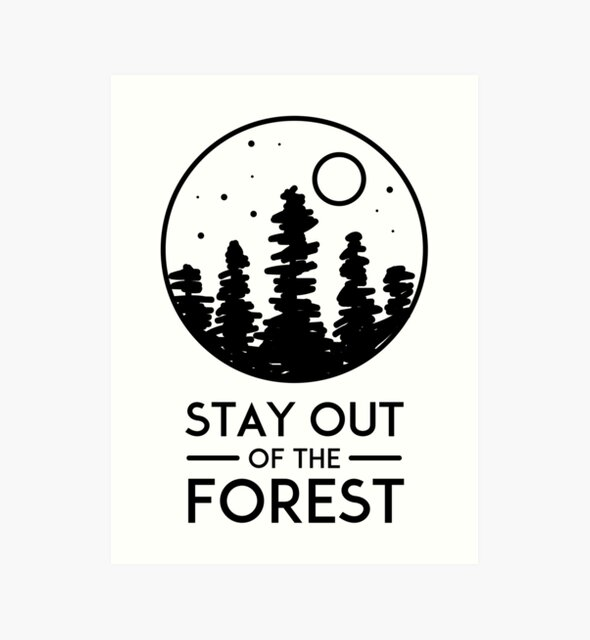SSDGM MFM Murderino Stay Out of the Forest  by StudioUnrefined