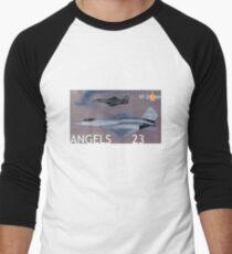 PHOTO201B Men's Baseball ¾ T-Shirt