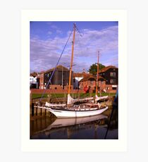 River Rother, Rye, East Sussex Art Print