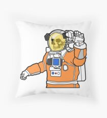 Welcome to Mars Throw Pillow