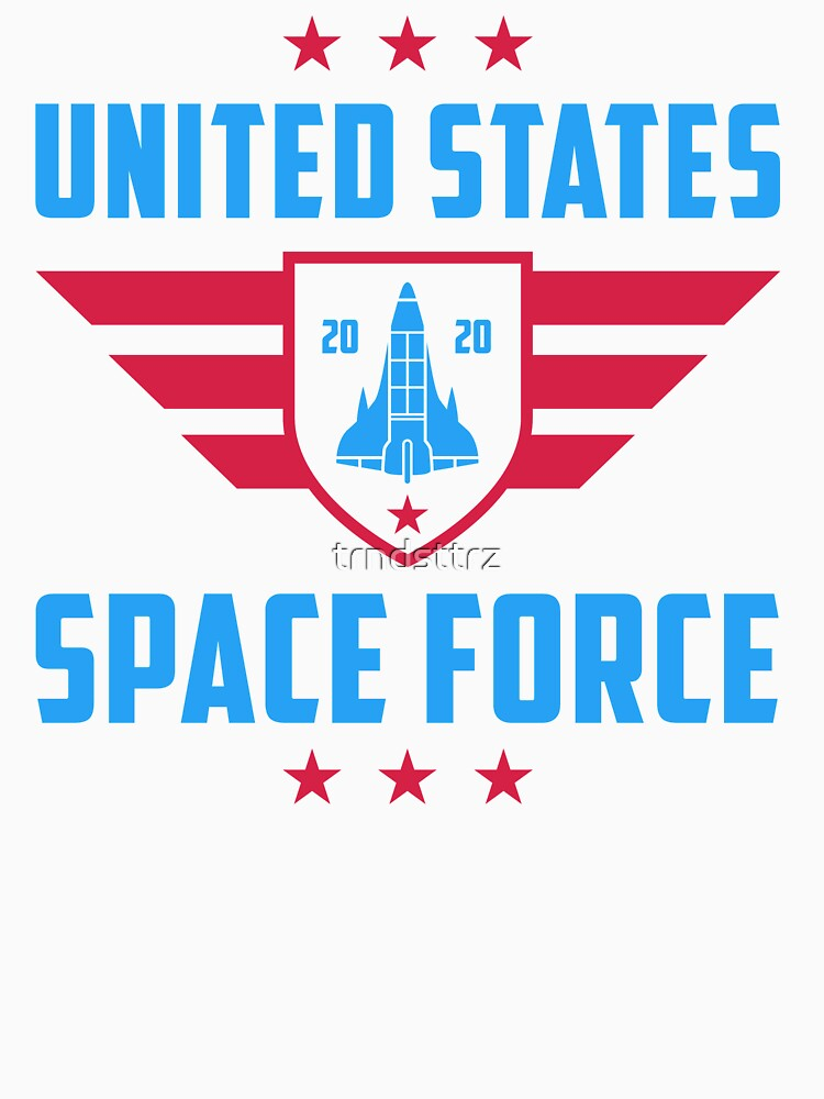 Space Force Shirt United States Space Force 2020 T-Shirt by trndsttrz