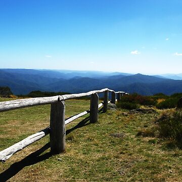 Fence-line - Craig's Hut by blossom