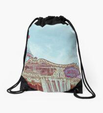 PIER 39 CAROUSEL - San Francisco, CA Drawstring Bag