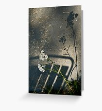 Shadows Greeting Card