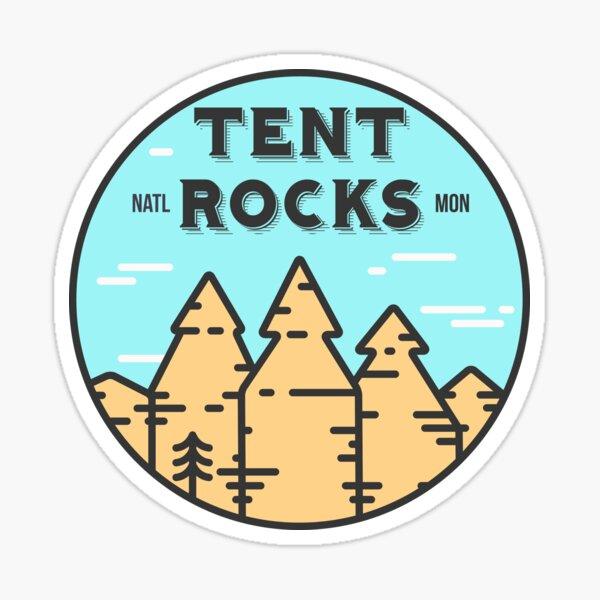 Kasha-Katuwe Tent Rocks National Monument New Mexico - Day Sticker