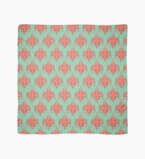 Sea foam green Damask Goddess Zee Scarf