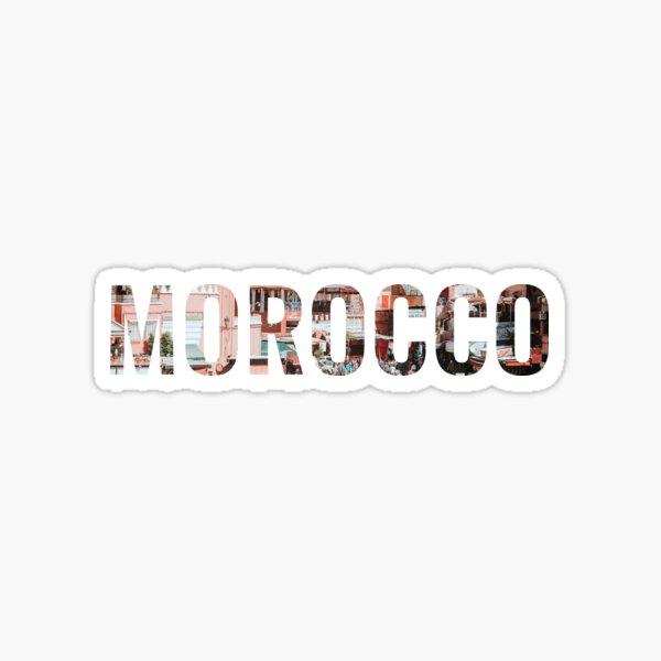 I Love Morocco -- Street Fair Design Sticker