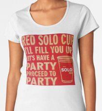 Red Solo Cup, Original Vintage Art Women's Premium T-Shirt
