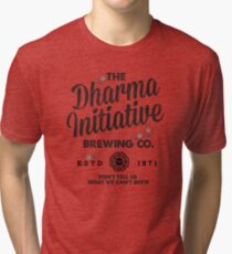 LOST Dharma Initiative Brewing Company Tri-blend T-Shirt