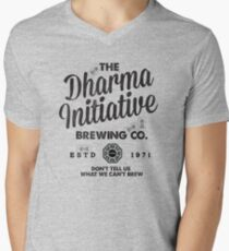 LOST Dharma Initiative Brewing Company Men's V-Neck T-Shirt