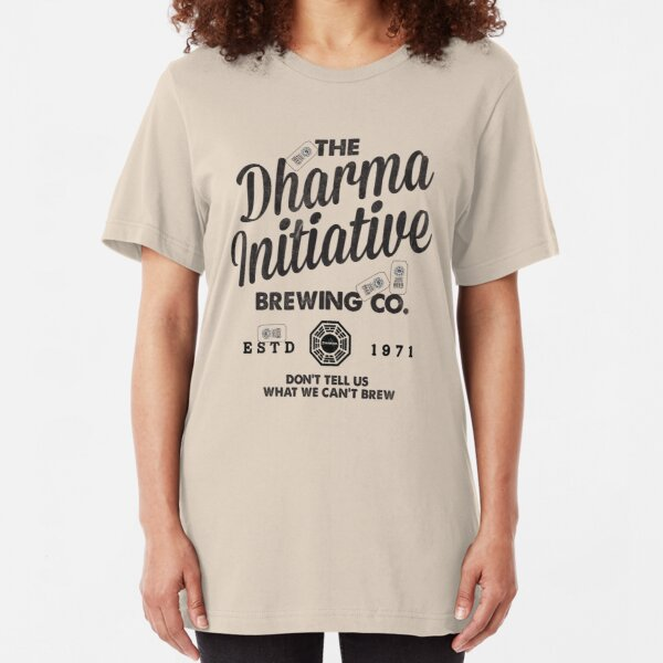 LOST Dharma Initiative Brewing Company Slim Fit T-Shirt