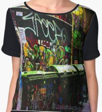 Graffiti Chiffon Top