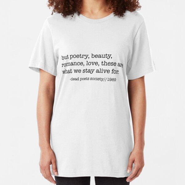 Dead Poets Society Slim Fit T-Shirt