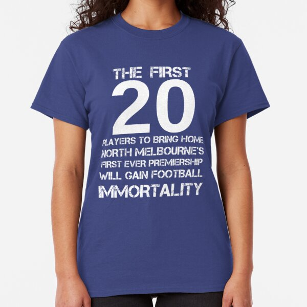 First 20 - North 1975 Blue Classic T-Shirt