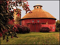 Indiana Round Barn by Judy Seltenright