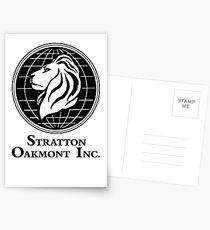 The Wolf of Wall Street Stratton Oakmont Inc. Scorsese Postcards