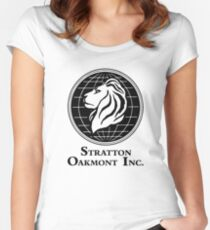 The Wolf of Wall Street Stratton Oakmont Inc. Scorsese Women's Fitted Scoop T-Shirt