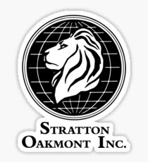 The Wolf of Wall Street Stratton Oakmont Inc. Scorsese Sticker
