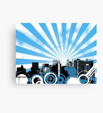NYC CItyscape Vector. Canvas Print