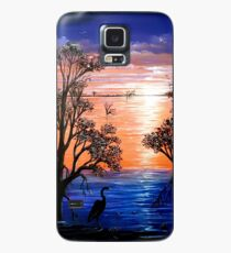 Sunset Blues Case/Skin for Samsung Galaxy